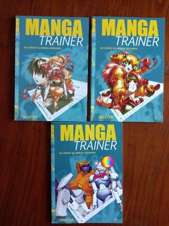Manga Trainer cărți