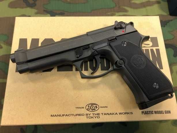 Pistol Airsoft Beretta M9# 6mm# 4,6j# 2000 bile+Co2