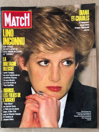 Revista Paris Match 13 November 1987 Lady Di