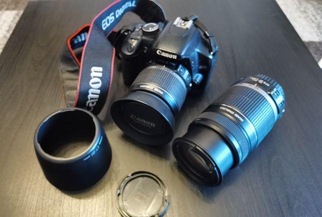 Pachet Canon 450D + Accesorii