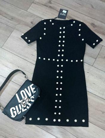 плетена елегантна рокля
