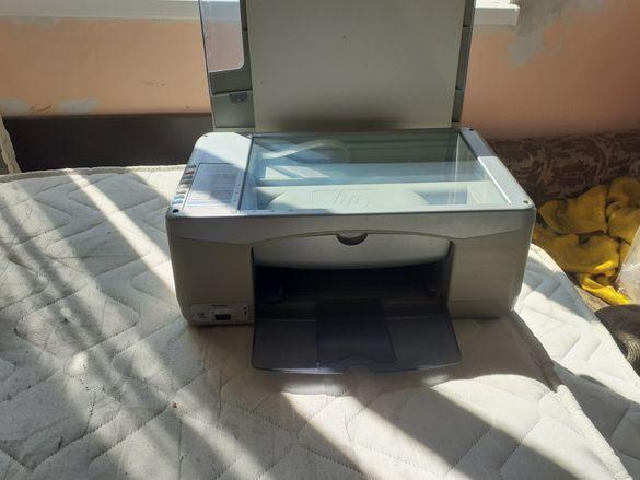 Цветен HP 3 в 1 принтер, скенер, копир