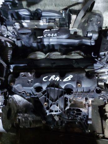 Motor audi  a3 20 tdi cba turbina injectie cutie viteza manuala 6 trep