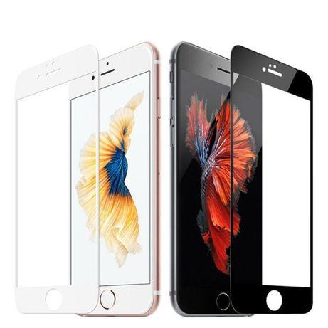 5D Стъклен Протектор iPhone X/XS/XR/11/12/Pro/Max/Mini/8/7/6/Plus/SE2