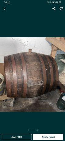 Butoi de vin din lemn stare foarte buna 500 litri