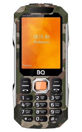 Моб телефон TANK с 4 активными сим картами,камера,блютуз,новые в упак