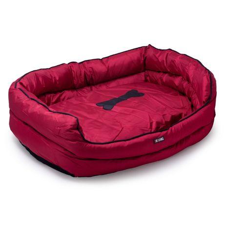 Легло NUNBELL промазка с двулицева възглавница с цип за ЕДРИ кучета
