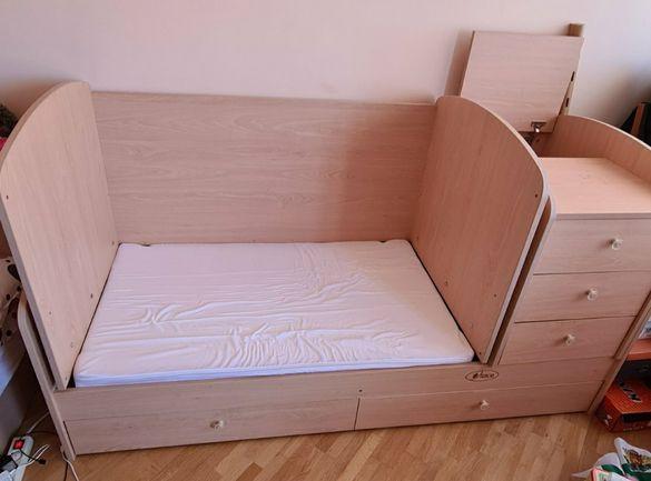 Детско легло 3 в 1