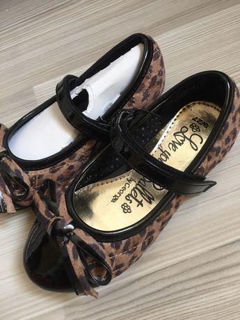 Pantofi NexT animal print 9uk/27 noi