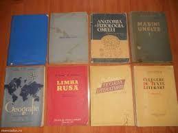 Vand cărți de vârsta scolara