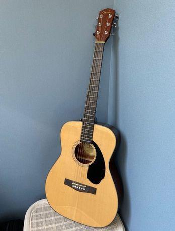 ТОРГ! Акустическая гитара Fender CC-60S NAT + зимний чехол