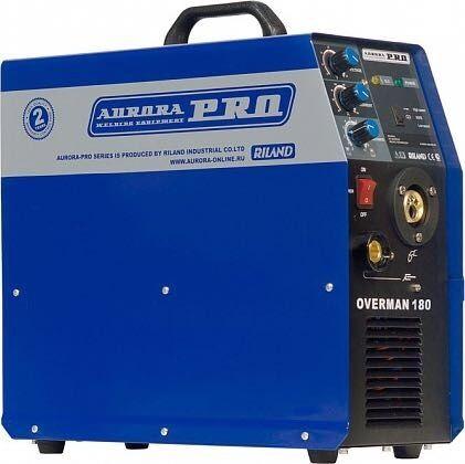 Полуавтомат сварочный Aurora Pro Overman 160,180,200A!2 года!КАСПИ РЕД