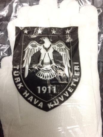 145 тг 100 % Турция Белая перчатка Ақ Военная Әскери QDTRANS Алматы