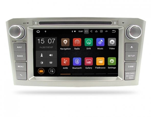 Navigatie Toyota Avensis T25 / T27 Anul 2003-2008. Android 10!