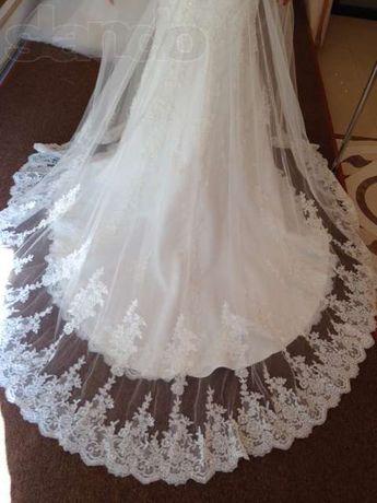 Стильное итальянское свадебное платье