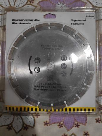 Disc diamantat materiale de construcții