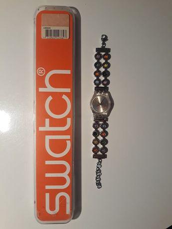 Дамски часовник Swatch с разтегаема каишка