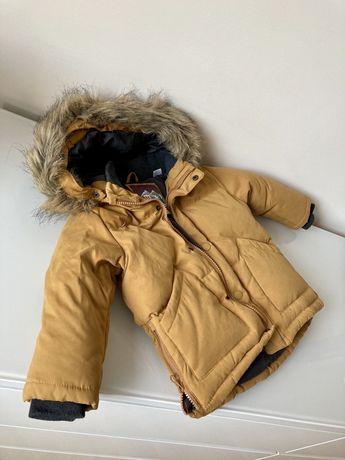 Детско топло яке Zara 18-24 м, 92 см