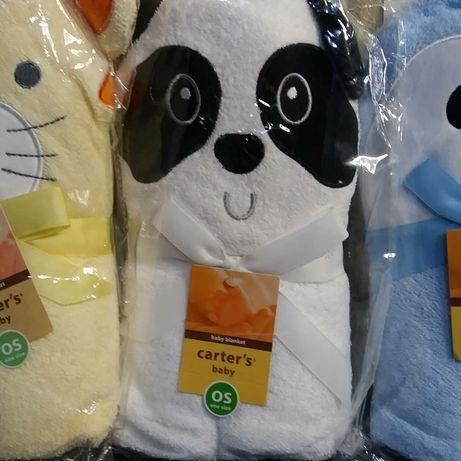 Банные детские полотенца фирмы CARTER'S