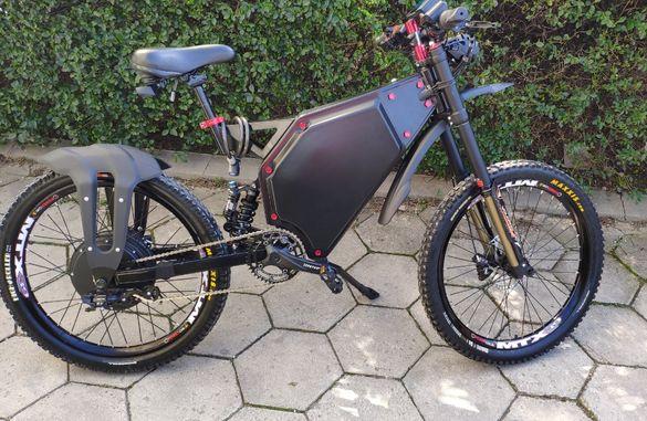 Електрически мощен кросов велосипед 8KW - 14KW