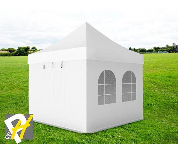 Алуминиева шатра тип хармоника, 3х3м - клас Professional, 620гр/м2