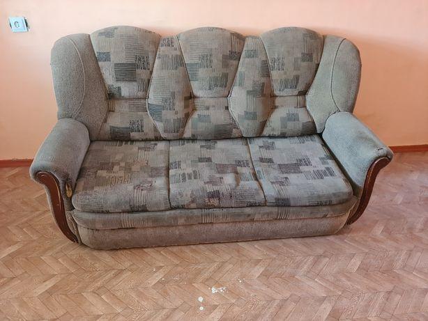 Диван и два кресла, раскладные, спальни гарнитур