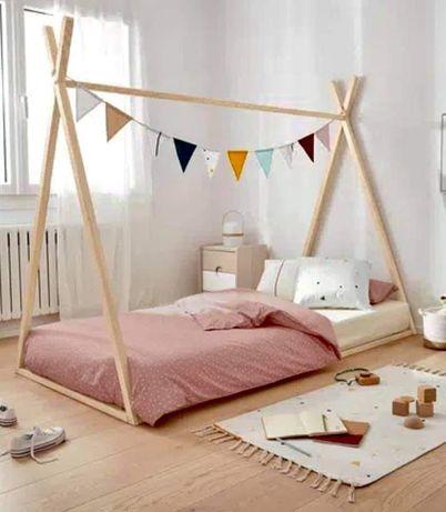 Детско легло палатка по метода на Монтесори