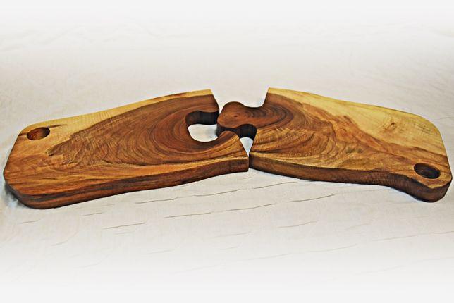 Set tocătoare de bucătărie din lemn de nuc