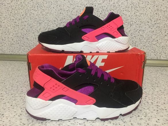 Оригинални *** Nike Air Huarache Run Black Purple
