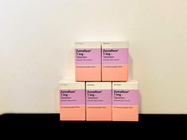 Zymafluor comprimate cu fluor copii 1 mg - 100 cpr