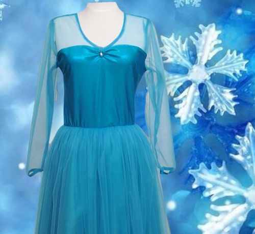 Rochie Elsa costum animatori rochie prințesă Frozen made in România