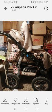 Продам коляску зимнюю