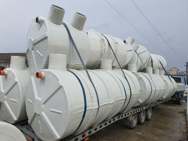 Fose septice ecologice fibra de sticla bazine decantare depozitare apa