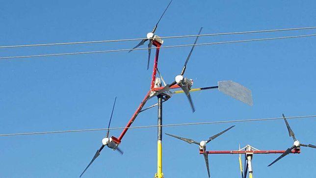 TURBINA EOLIANA 9kw 24-48v (POLIGON testare turbine eoliene)