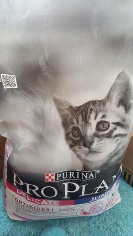 Корм для кошек Проплан.