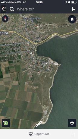 Vand teren intravilan la Lac Techirghiol 1053 mp