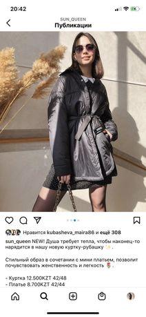 Новая куртка-рубашка под Zara