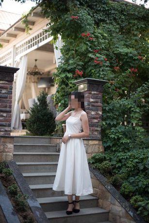 Белые платье для девочки