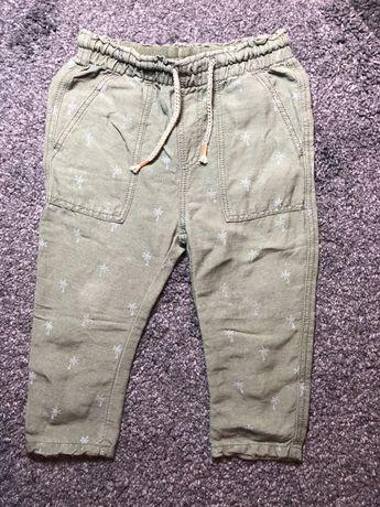 Pantaloni Zara pentru baieti, din in, mar 86