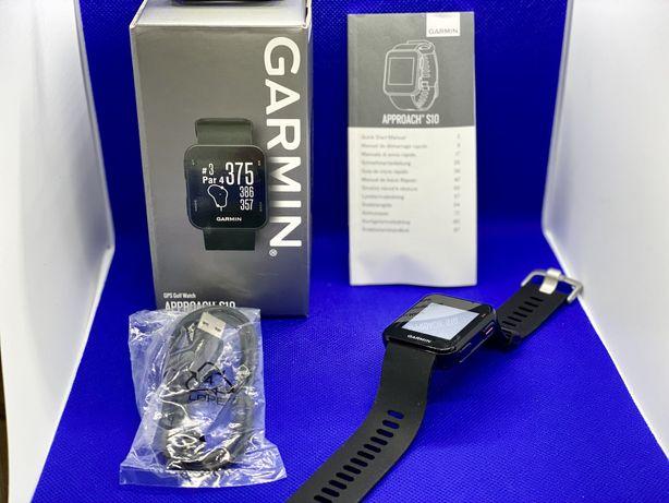 Ceas Garmin GPS Golf Approach S10 Negru - Black, Nou, Nefolosit