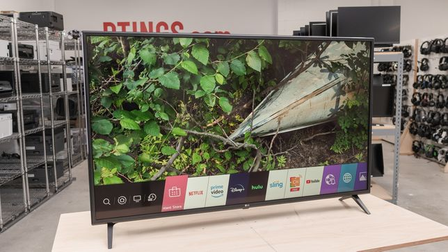 Большой 4к Телевизор LG