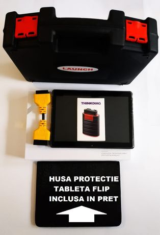 Launch Easydiag T4.0S + Tableta 10.1 inch - Kit tester auto 2020/2021