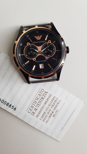 Ceas Emporio Armani AR-0584 Chronograph