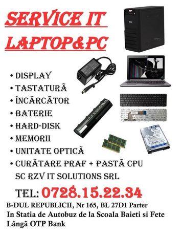 Service IT/Reparatii Laptop/Calculator/Tableta/Instalari Windows/PS4