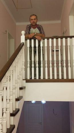 Внутренняя отделка бань и изготовление и монтаж лестниц. Качество!