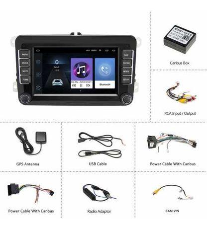Dvd Player VW, Skoda, Seat, ANDROID, Wi-FI, Dedicat Garantie