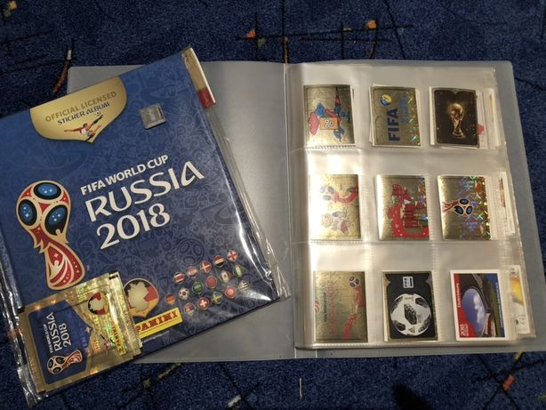 Album complet FIFA WORLD CUP RUSSIA 2018