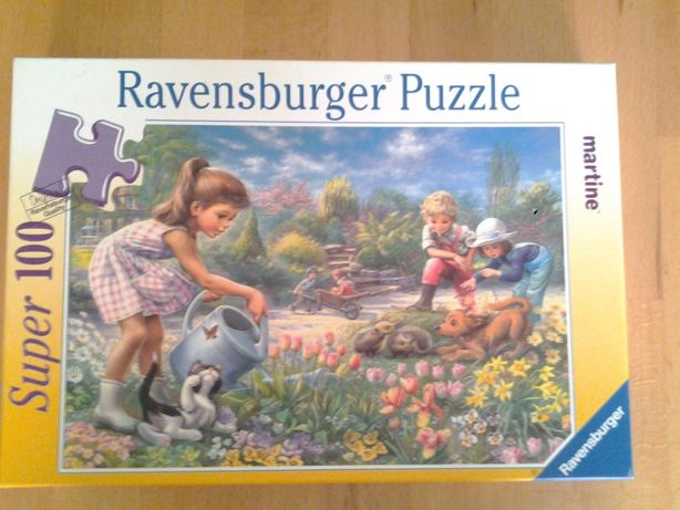 Ravensburger gradina Martinei puzzle copii +4 ani