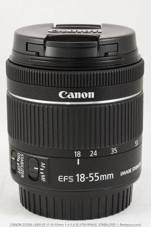 Обектив Canon 18-55mm IS STM