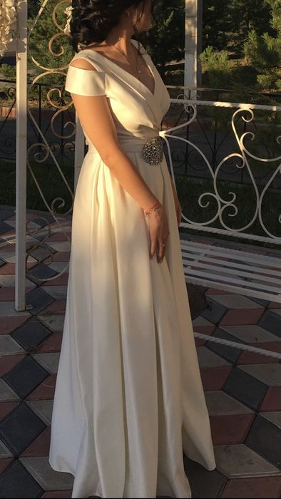 Продам платье на узату, сырга салу Капчагай - изображение 1